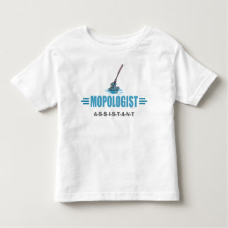 Humorous Mop Mopping T-shirts