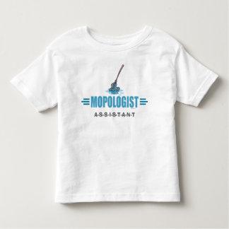 Humorous Mop Mopping T Shirts