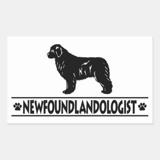 Humorous Newfoundland Rectangular Sticker
