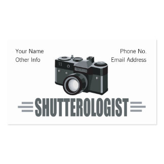 Humorous Photography Business Card Template