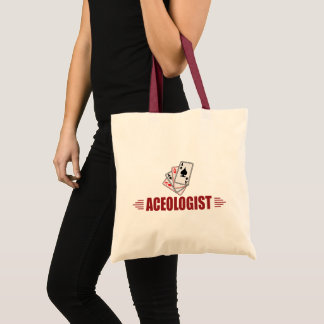 Humorous Playing Cards Tote Bag