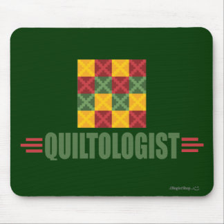 Humorous Quilting Mouse Mat