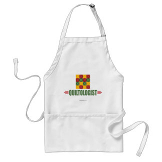 Humorous Quilting Standard Apron