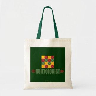 Humorous Quilting Tote Bag