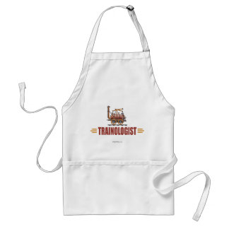 Humorous Railroad Train Standard Apron