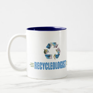 Humorous Recycling Coffee Mug