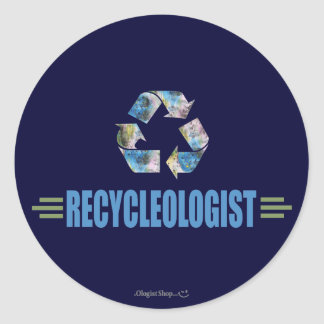 Humorous Recycling Sticker