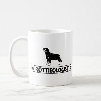 Humorous Rottweiler Classic White Coffee Mug