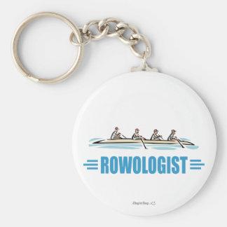 Humorous Rowing Key Ring