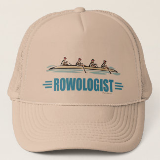 Humorous Rowing Trucker Hat