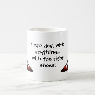 Humorous Shoe Mug
