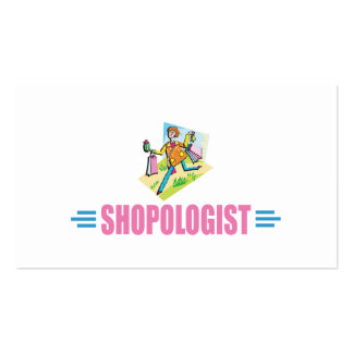 Humorous Shopping Pack Of Standard Business Cards