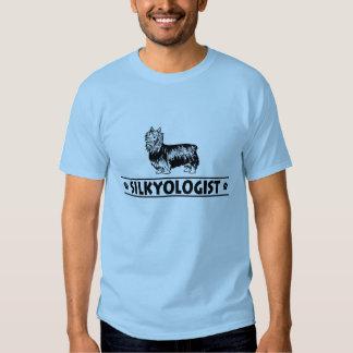 Humorous Silky Terrier Tee Shirt