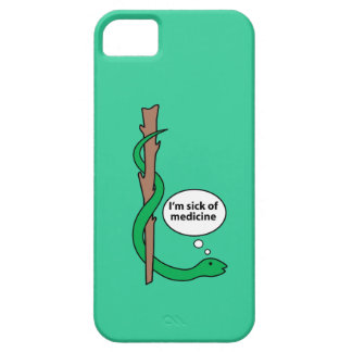 Humorous Staff of Asclepius Barely There iPhone 5 Case