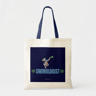 Humorous Swimming Canvas Bags