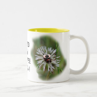 Humorous Wet Dandelion Coffee Mug - pesonalize
