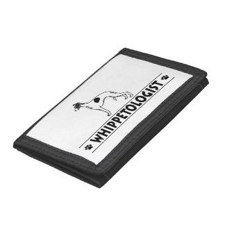Humorous Whippet Tri-fold Wallet