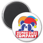 humour like company panda refrigerator magnets