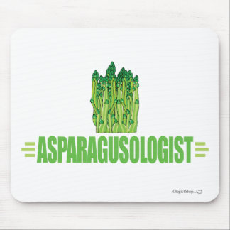 Humourous Asparagus Lover Mouse Pad