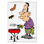 Humourous BBQ Gifts Greeting Card