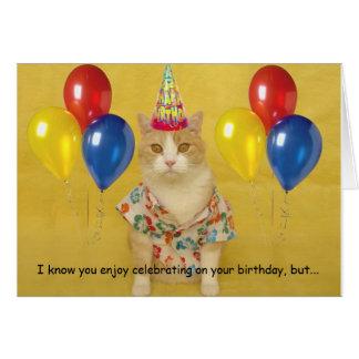 Humourous Birthday Greeting Card