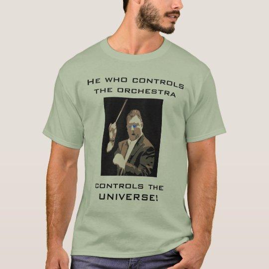 Humourous Conductor T-Shirt Men