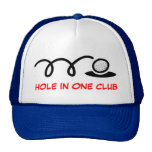 Humourous golf hat | hole in one club