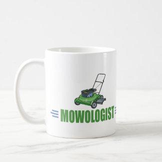 Humourous Lawn Mowing Coffee Mugs