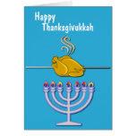 Humourous Thanksgivukkah Custom