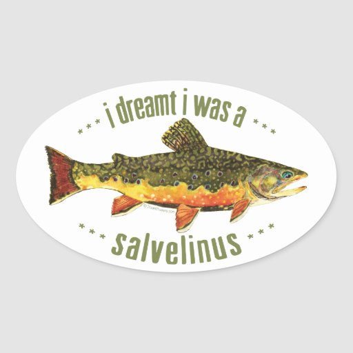 Humourous trout fishing zazzle for Fishing r us