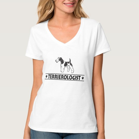 Humourous Wirehaired Fox Terrier T-Shirt