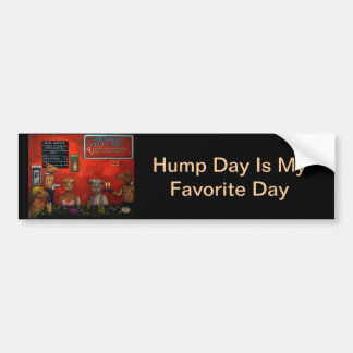 Hump Day Bumper Sticker