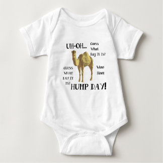 Hump Day Camel Baby Bodysuit