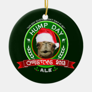 Hump Day Camel Christmas 2013 Ale Ornament
