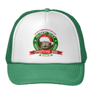 Hump Day Camel Christmas Ale Label Hat