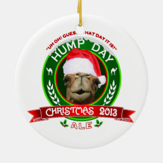 Hump Day Camel Christmas Ale Ornament