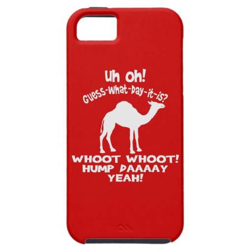 Hump Day Camel Guess What Day It Is iPhone Case iPhone 5/5S Cover
