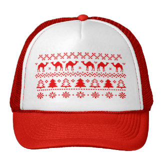 Hump Day Camel Ugly Christmas Sweater Hat
