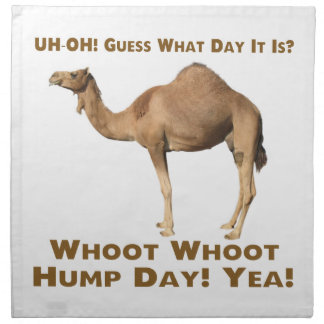 Hump Day Napkin