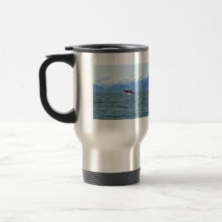 Humpback Acrobat Stainless Steel Travel Mug