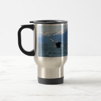 Humpback Barrel Roll Stainless Steel Travel Mug