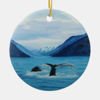 Humpback Haven Ornament