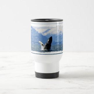 Humpback on the Surface; 2012 Calendar Stainless Steel Travel Mug