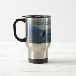 Humpback on the Surface; Customizable Stainless Steel Travel Mug