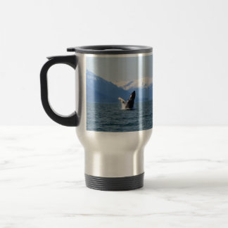 Humpback on the Surface Stainless Steel Travel Mug