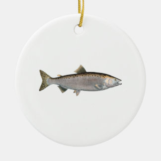 Humpback Salmon (ocean phase) Christmas Ornament