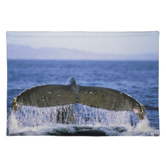 Humpback tail. placemat