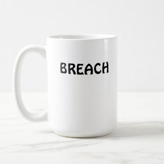 Humpback Whale Breach Basic White Mug