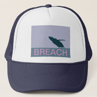 Humpback whale breach cap