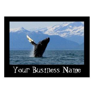 Humpback Whale Breaching Business Card
